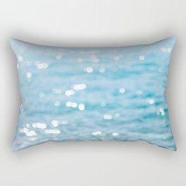 sparkling sea Rectangular Pillow