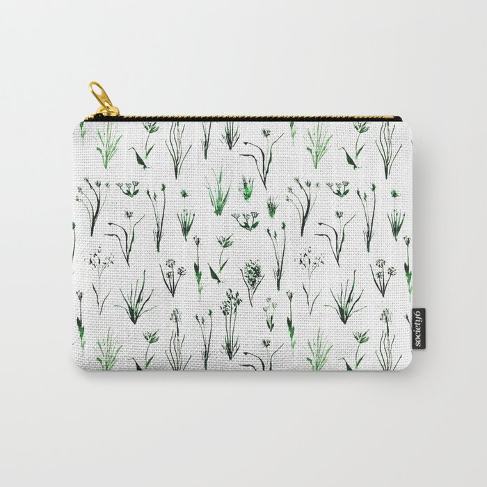 Green and fresh Carry-All Pouch