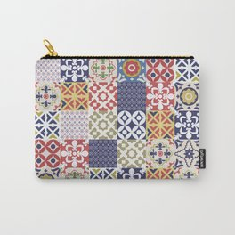 Portuguese pattern color Carry-All Pouch