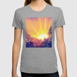 Cats and Sunrise T-shirt