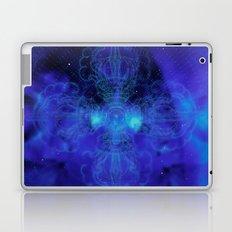 Tibet. Blue Meditation Laptop & iPad Skin