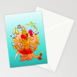 Naga Boo Stationery Cards