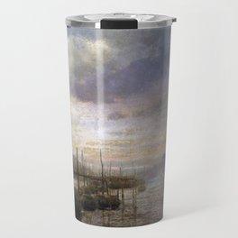 Hermann Herzog Venetian Canal Travel Mug