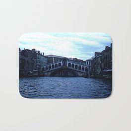 Rialto Bridge * 1950's * Italy * Kodachrome * Vintage Color Photo * Venice Bath Mat
