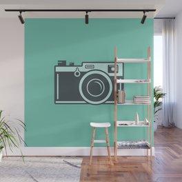 Camera Illustration Wall Mural