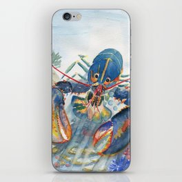 Under The Sea 2 - Lobster iPhone Skin