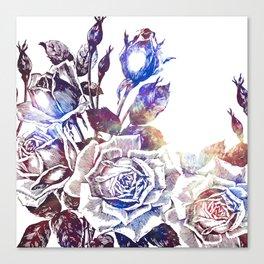Rose Bloom Nebula Canvas Print