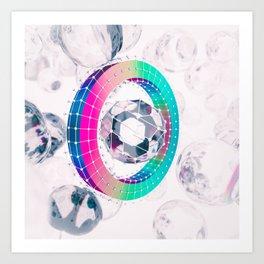 Spectral Boundary Art Print