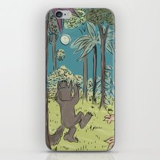 wild things are iPhone & iPod Skin