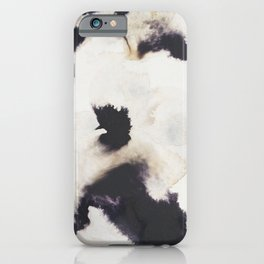 Ink and coffee iPhone Case