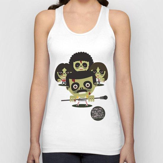 queen zombies Unisex Tank Top