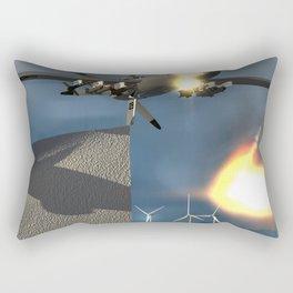 Fly: Fire Fly Rectangular Pillow