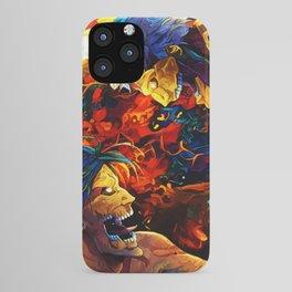 Colorful Armored Titan iPhone Case