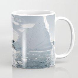 Icebergs Of The Arctic Coffee Mug