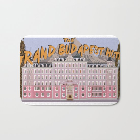 THE GRAND BUDAPEST HOTEL Bath Mat