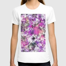 Reflecting the purple water T-shirt