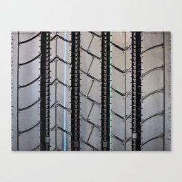Tread pattern truck tire Canvas Print