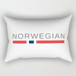 Norwegian Norway Rectangular Pillow