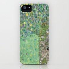 Gustav Klimt - Rosebushes under the Trees Slim Case iPhone (5, 5s)