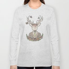 Mr. Deer Long Sleeve T-shirt