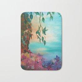 enchanted painting Bath Mat