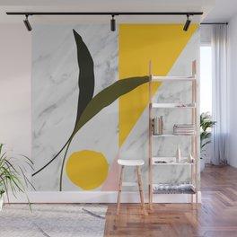 Tropical Marble Wall Mural