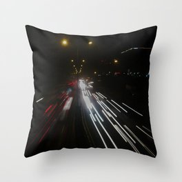 Fast Life Throw Pillow