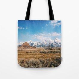 The Grand Tetons Tote Bag