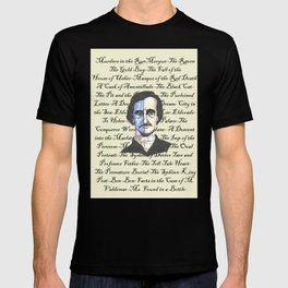 Poe Titles T-shirt