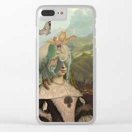 VIVIAN Clear iPhone Case
