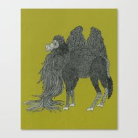 camel Canvas Prints featuring Camel by Amanda James