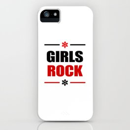 GIRLS ROCK! iPhone Case