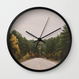 Adirondack Park Wall Clock