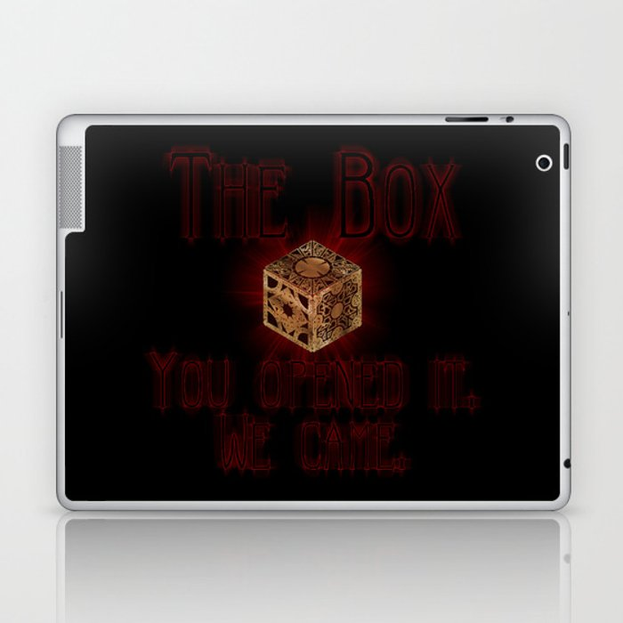 Hellraiser The Box You Opened It Laptop & iPad Skin