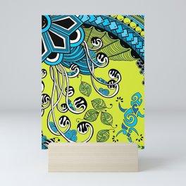 Zentangle Lizzard Mini Art Print