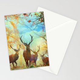 Autumn Forest Watch Stationery Cards
