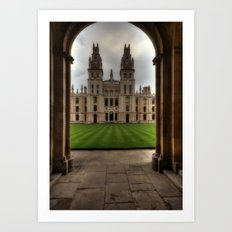 Christ Church College, Oxford Art Print