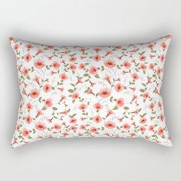 Bindweed , floral background Rectangular Pillow