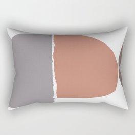 minimalist collage 06 Rectangular Pillow