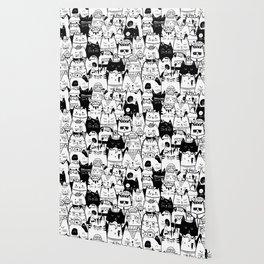 Itty Bitty Kitty Committee Wallpaper
