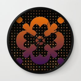 Dark Illusion Wall Clock