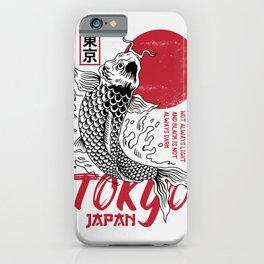 Japanese Koi Fish Art Work iPhone Case
