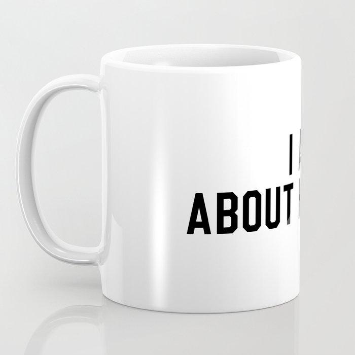 I Am Sad About Hockey Coffee Mug