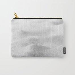 Snow Close up // Winter Landscape Powder Snowing Photography Ski Snowboarder Snowy Vibes Carry-All Pouch