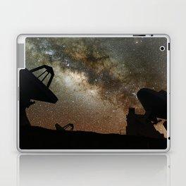 Radio Telescopes and Milky Way Laptop & iPad Skin