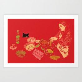 Meal Prep Art Print