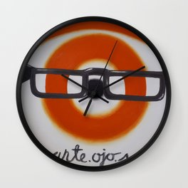 ante.ojos Wall Clock