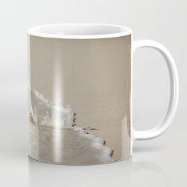 Seashell in the Waves Coffee Mug