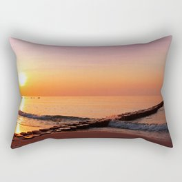 Late at the ocean, Germany Rectangular Pillow
