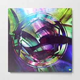 A Collusion of Malignant Isotopes Metal Print